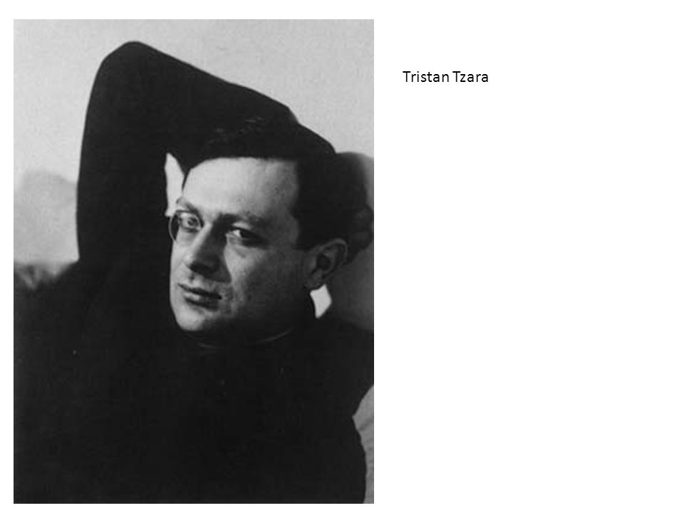 Tristan Tzara Bersagli dell'espress. ma mezzi più drastici:
