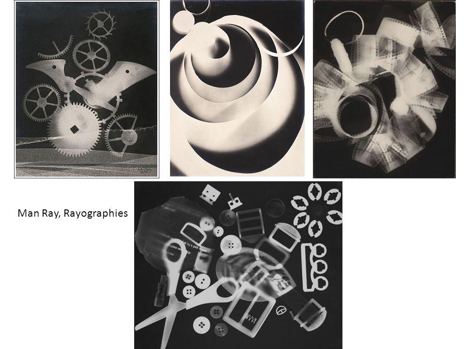 Man Ray, Rayographies Radiografie del mondo reale