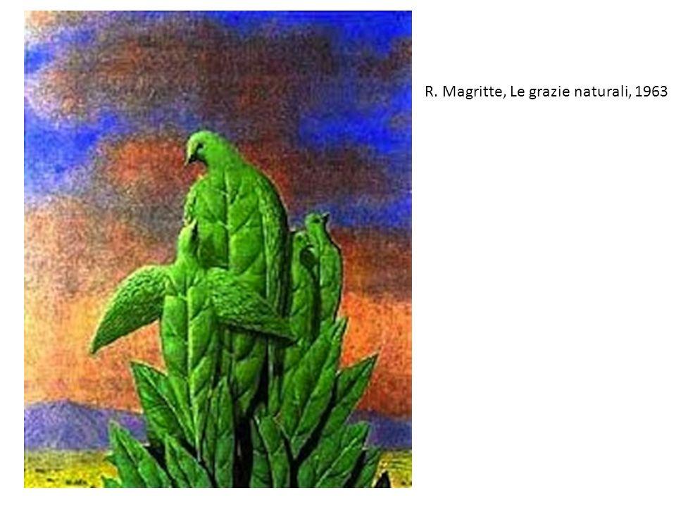 R. Magritte, Le grazie naturali, 1963