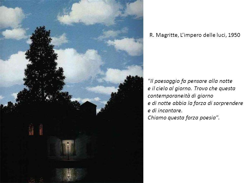 R. Magritte, L'impero delle luci, 1950