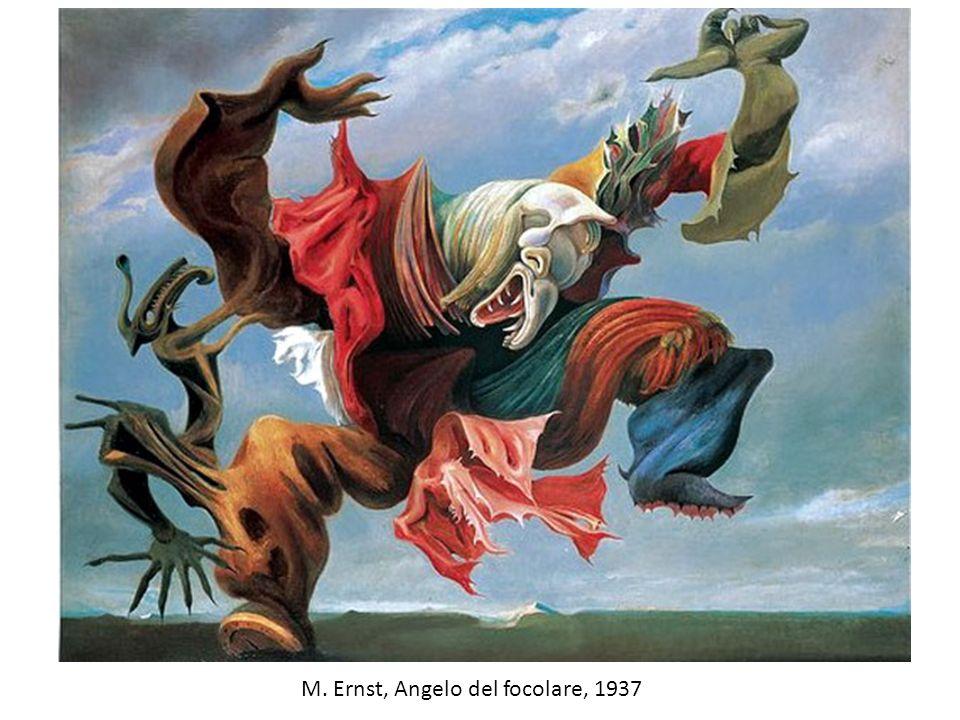 M. Ernst, Angelo del focolare, 1937