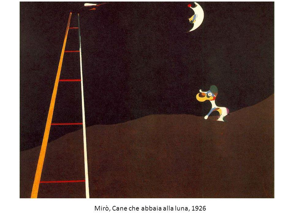 Mirò, Cane che abbaia alla luna, 1926