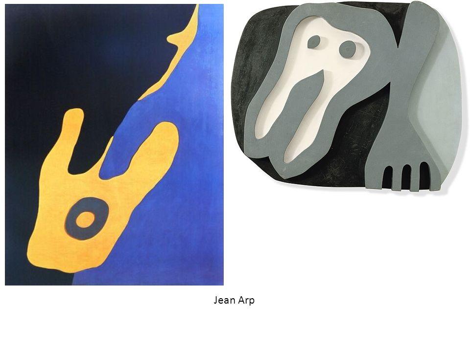assemblage Carta+Legno Jean Arp