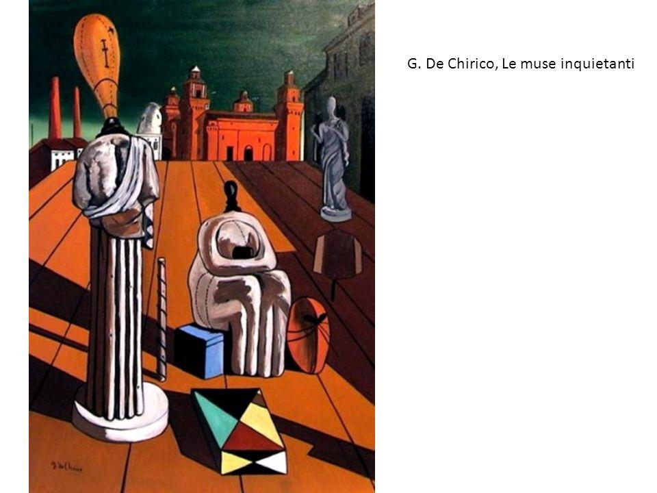 G. De Chirico, Le muse inquietanti