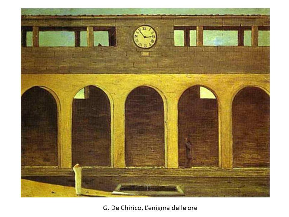 G. De Chirico, L'enigma delle ore