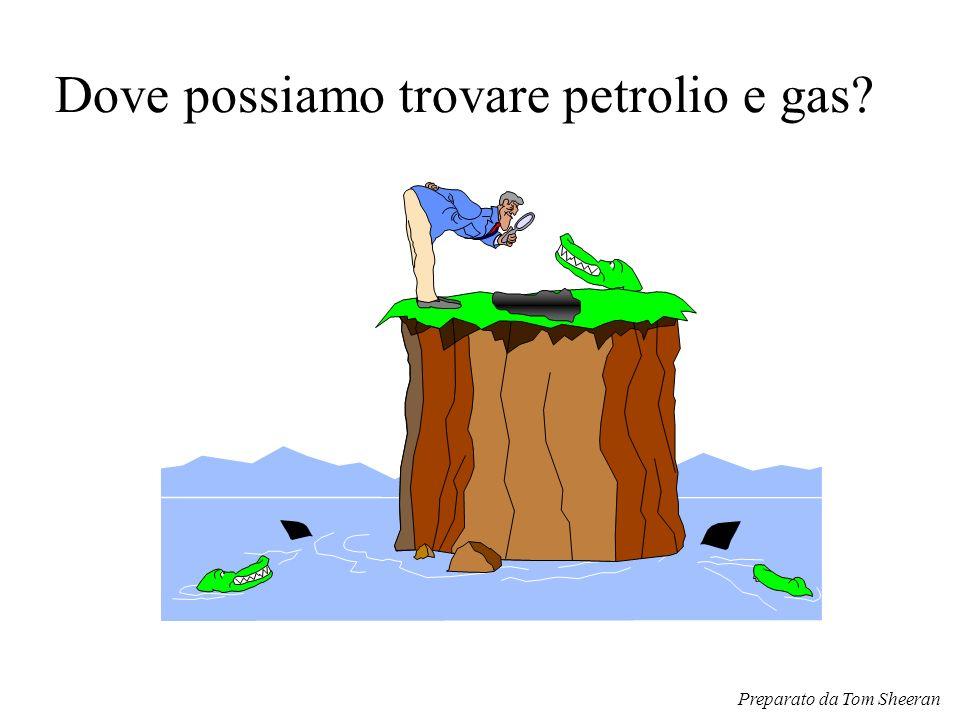Dove possiamo trovare petrolio e gas