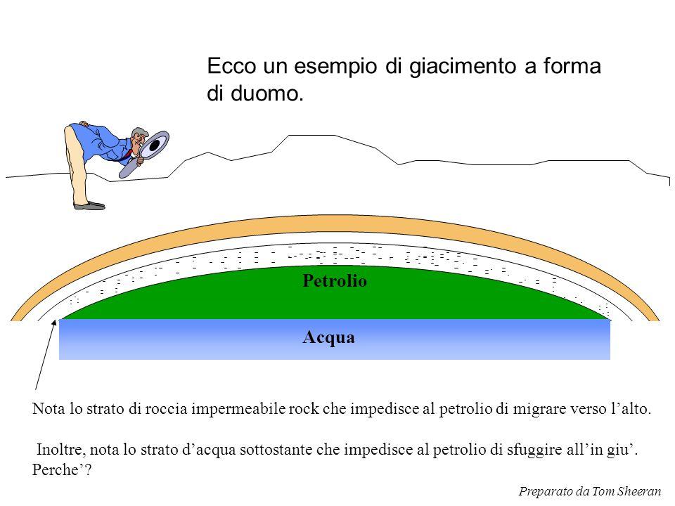 Ecco un esempio di giacimento a forma di duomo.