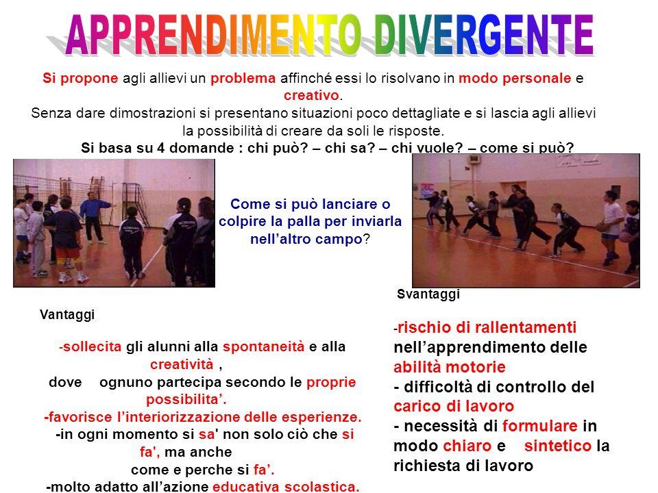 APPRENDIMENTO DIVERGENTE