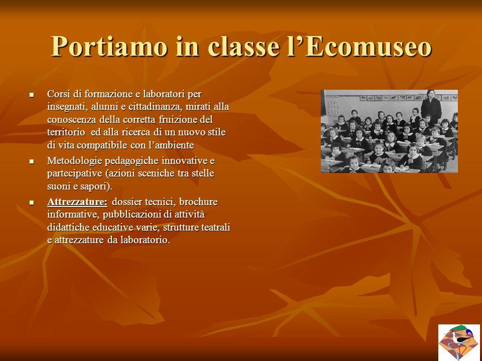 Portiamo in classe l'Ecomuseo