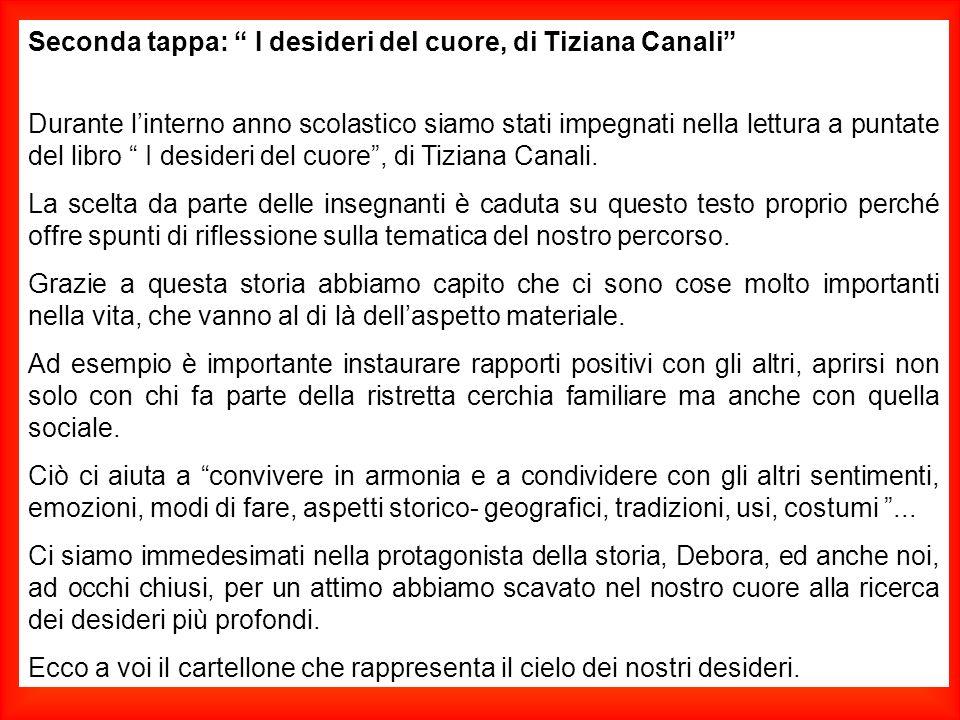 Seconda tappa: I desideri del cuore, di Tiziana Canali