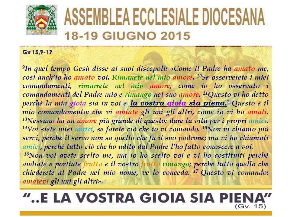 Gv 15,9-17