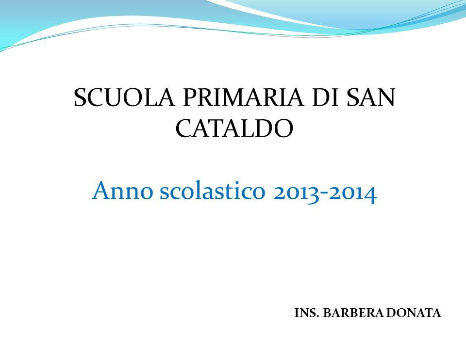 SCUOLA PRIMARIA DI SAN CATALDO