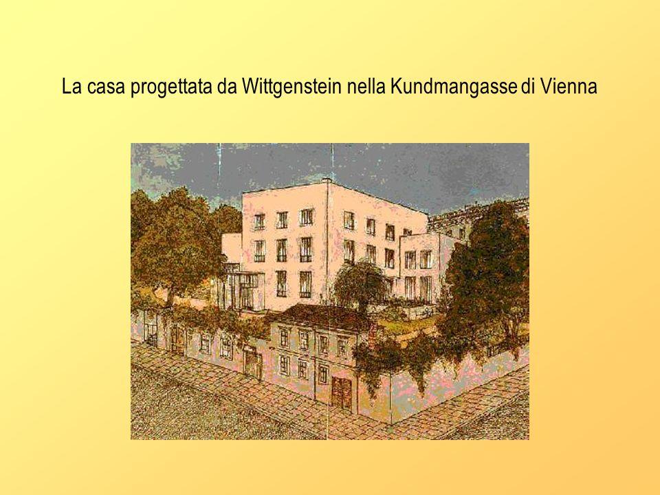 La casa progettata da Wittgenstein nella Kundmangasse di Vienna