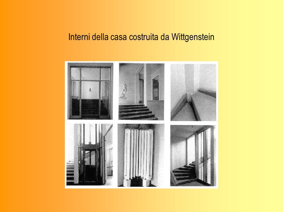 Interni della casa costruita da Wittgenstein