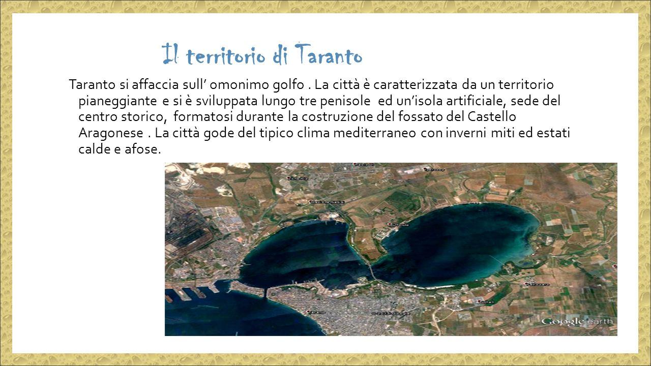 Il territorio di Taranto