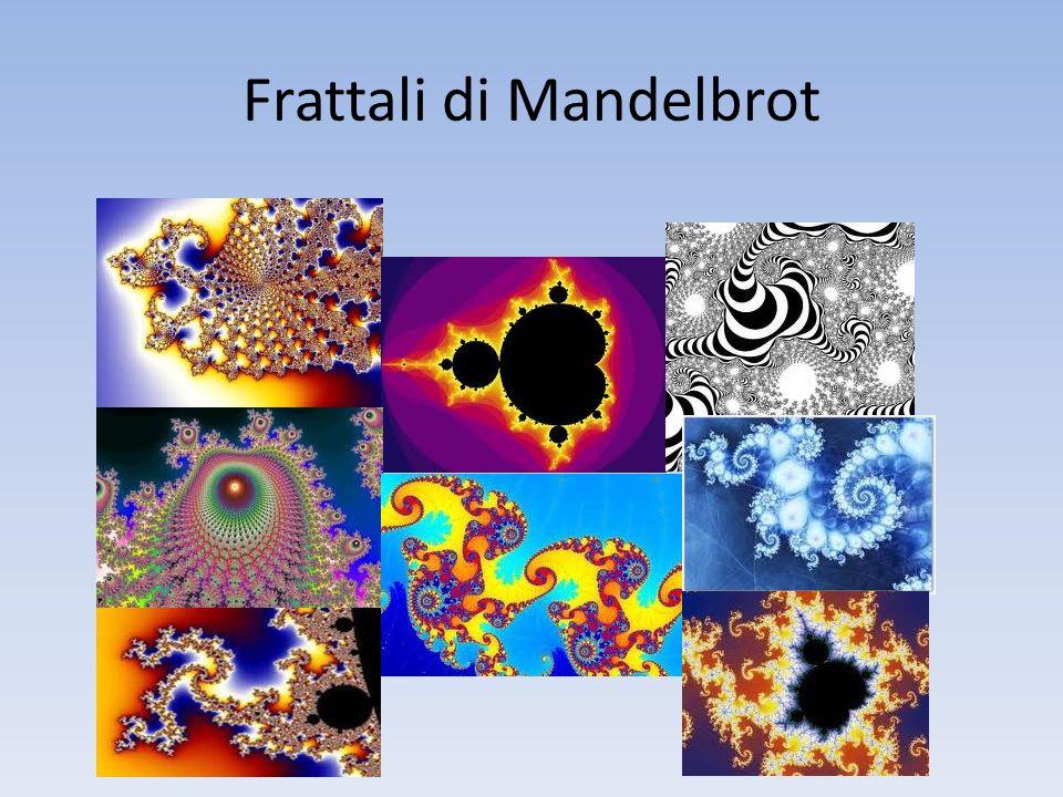 Frattali di Mandelbrot