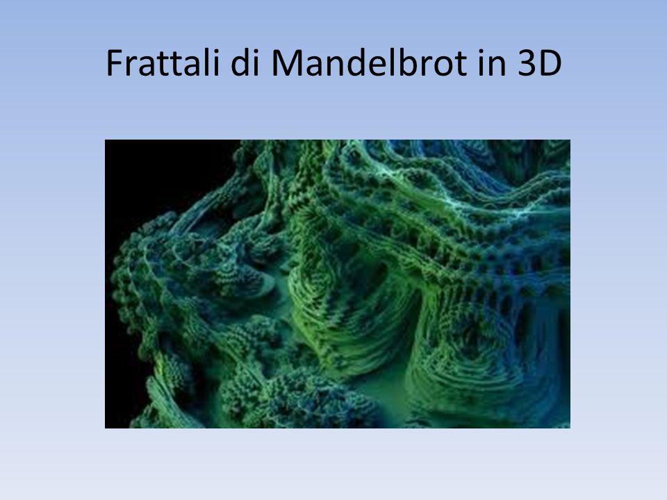 Frattali di Mandelbrot in 3D