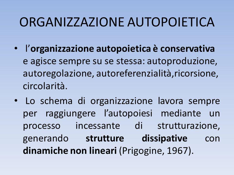 ORGANIZZAZIONE AUTOPOIETICA