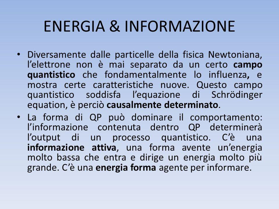 ENERGIA & INFORMAZIONE