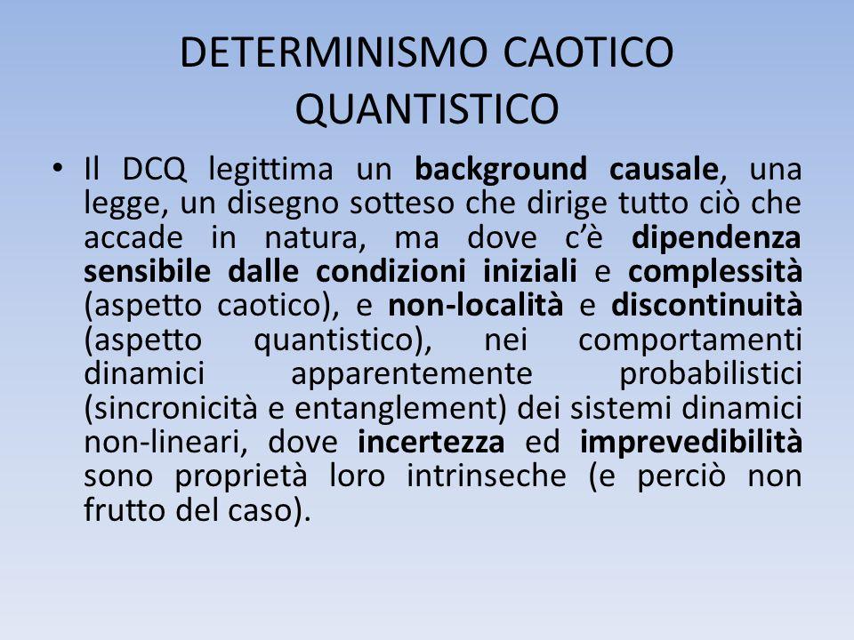 DETERMINISMO CAOTICO QUANTISTICO