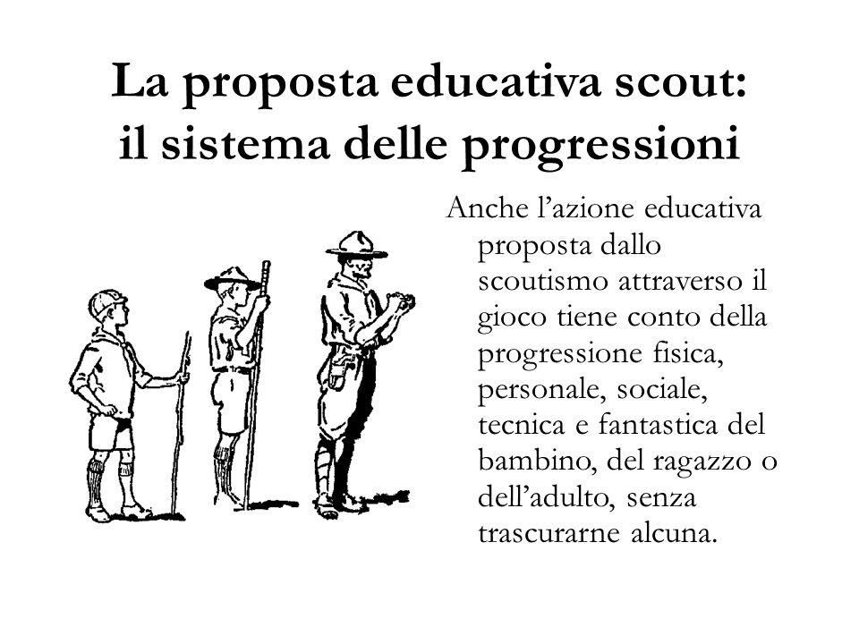 La proposta educativa scout: il sistema delle progressioni