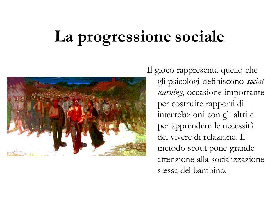 La progressione sociale