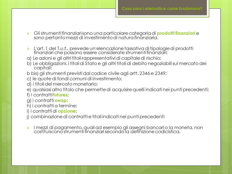 c) le quote di fondi comuni di investimento;