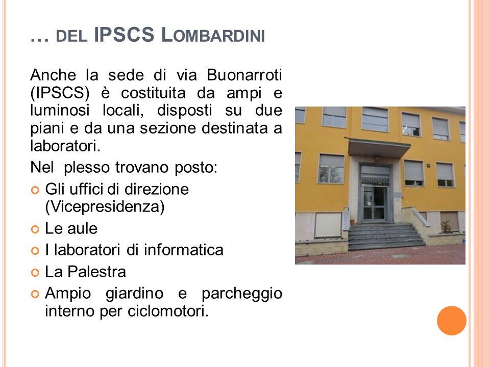 … del IPSCS Lombardini