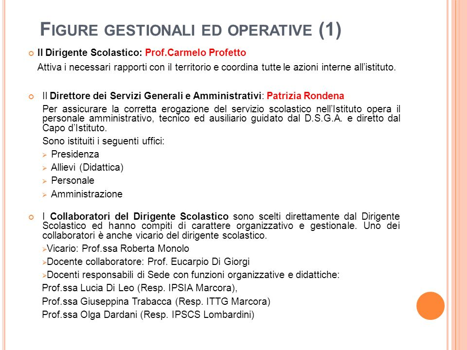 Figure gestionali ed operative (1)