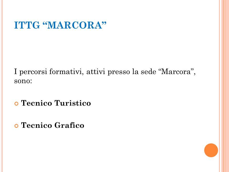 ITTG MARCORA I percorsi formativi, attivi presso la sede Marcora , sono: Tecnico Turistico.
