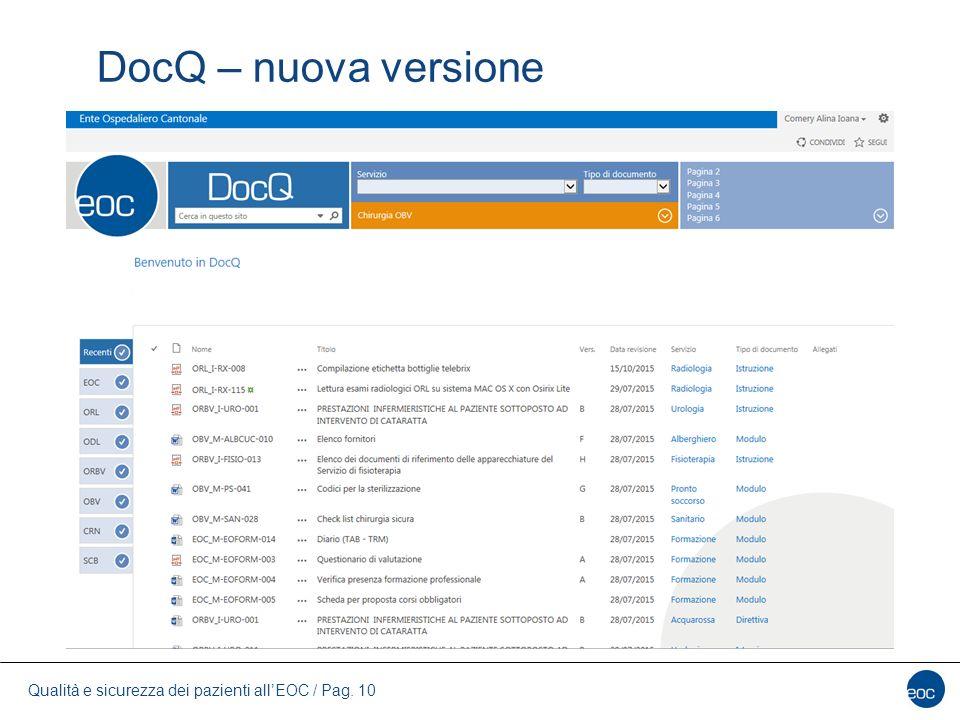 DocQ – nuova versione