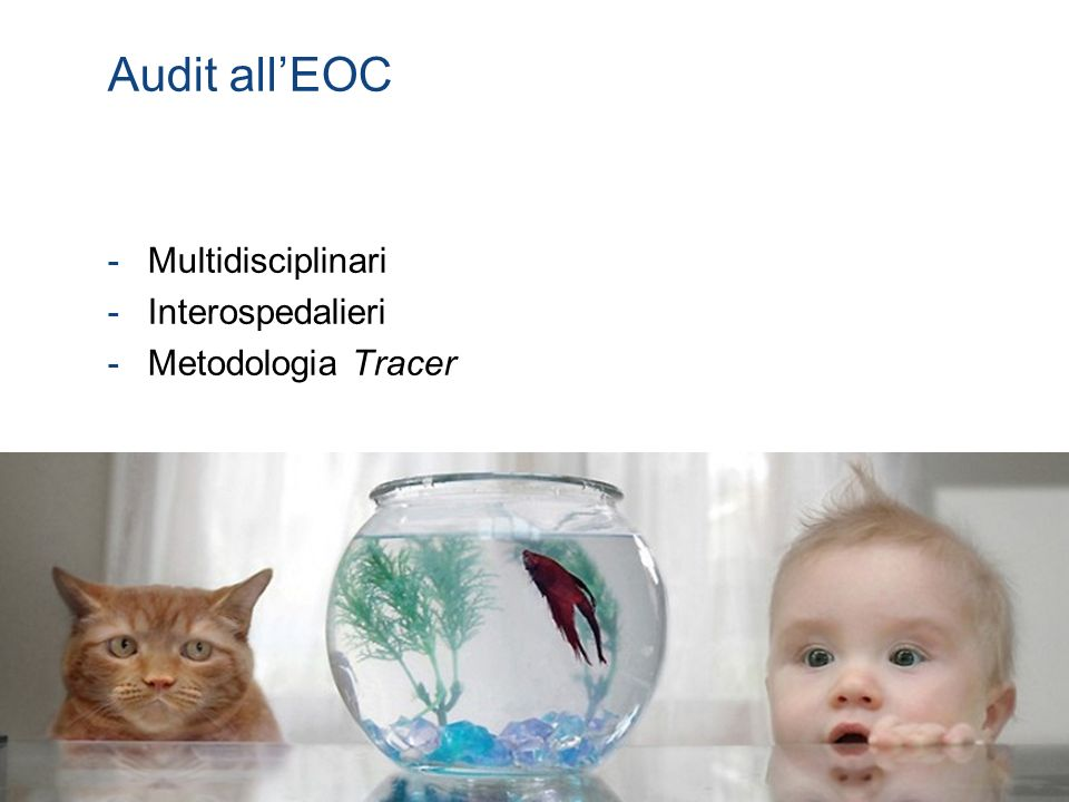 Audit all'EOC Multidisciplinari Interospedalieri Metodologia Tracer