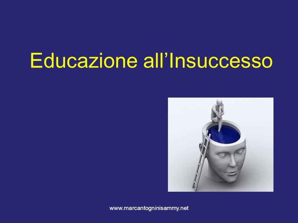 Educazione all'Insuccesso