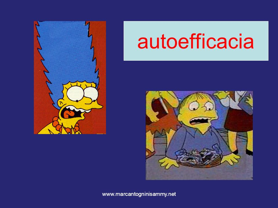 autoefficacia www.marcantogninisammy.net