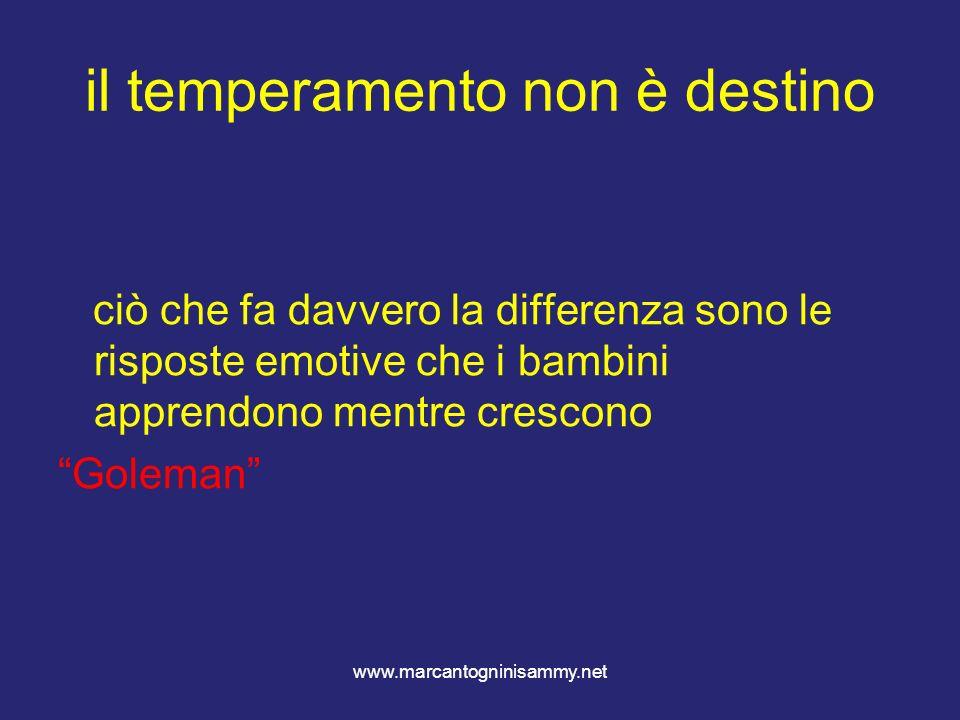 il temperamento non è destino