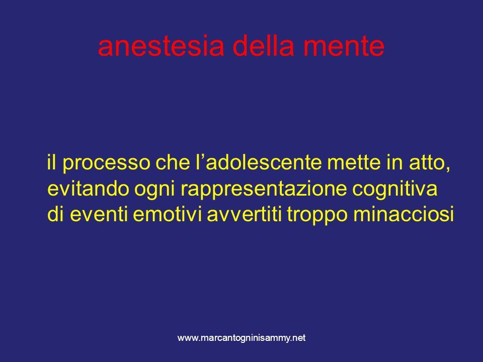 anestesia della mente