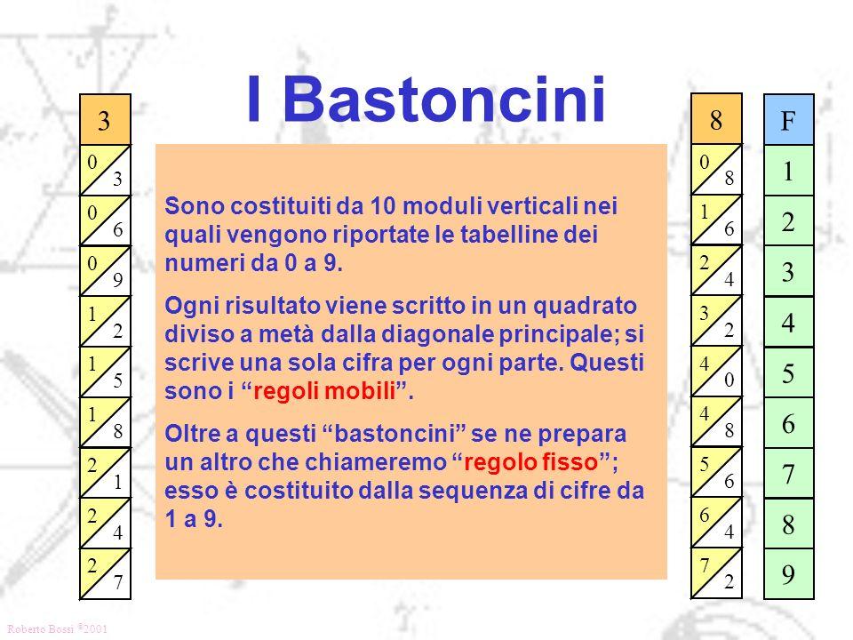 I Bastoncini 3. 6. 9. 2. 1. 5. 8. 4. 7. 8. 6. 1. 4. 2. 3. 5. 7. F. 1. 2. 3. 4.
