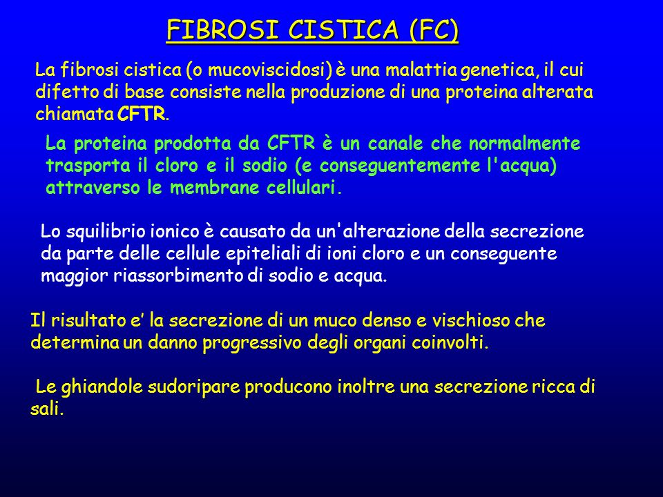 FIBROSI CISTICA (FC)