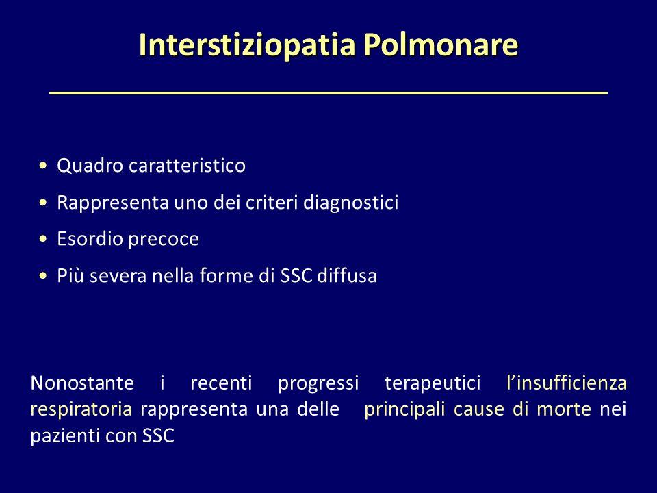 Interstiziopatia Polmonare