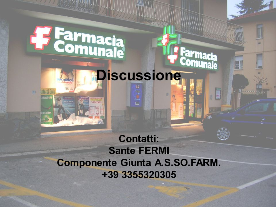 Componente Giunta A.S.SO.FARM.