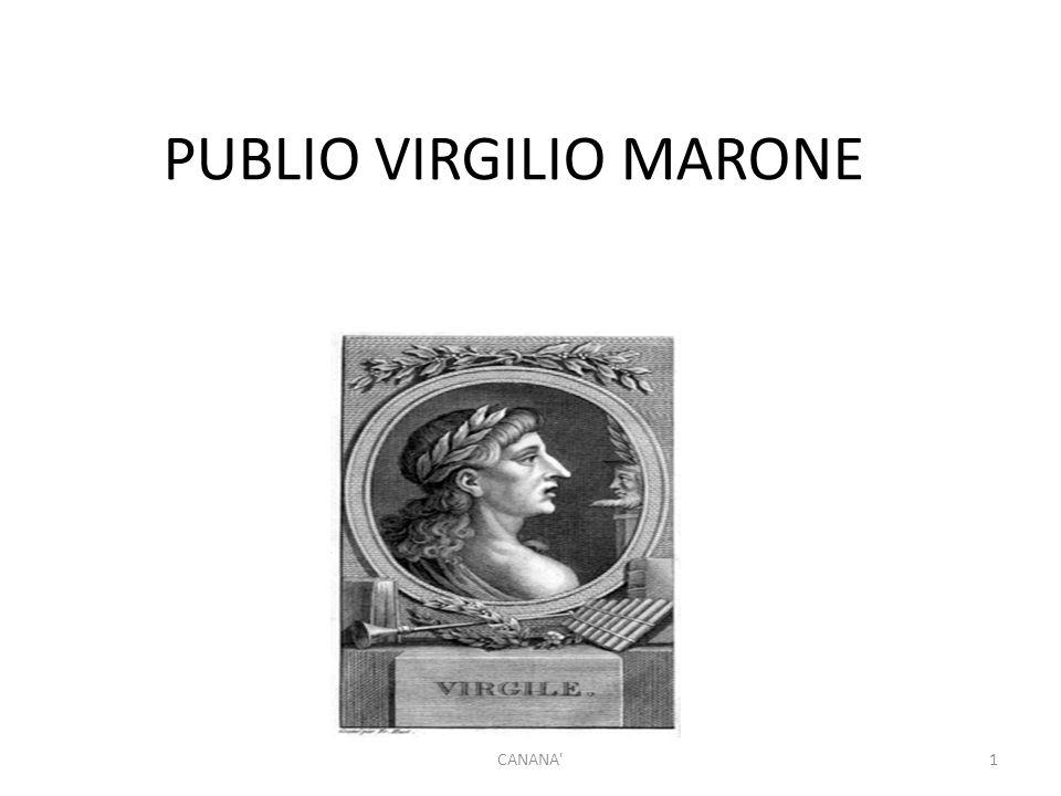 PUBLIO VIRGILIO MARONE