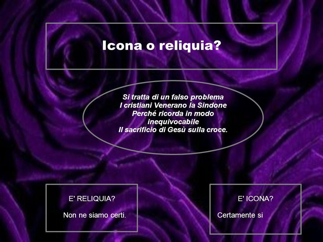 Icona o reliquia Si tratta di un falso problema
