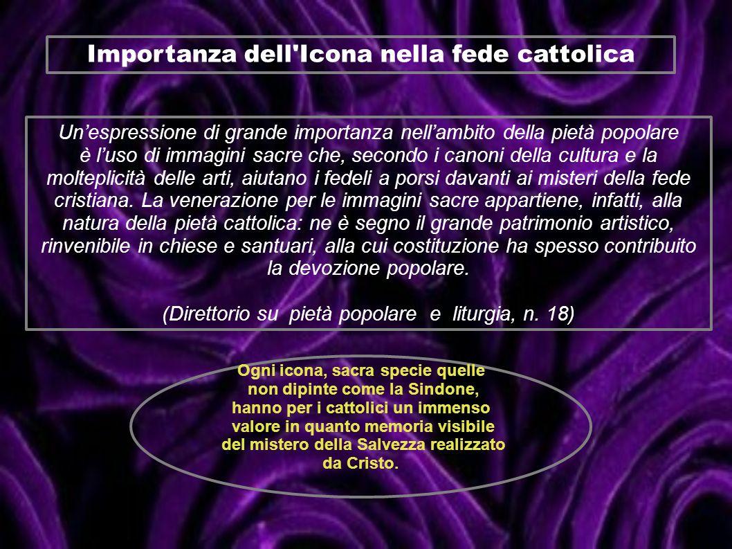 Importanza dell Icona nella fede cattolica