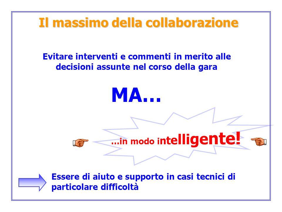 Il massimo della collaborazione
