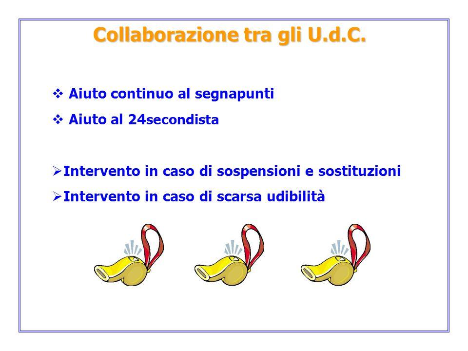 Collaborazione tra gli U.d.C.