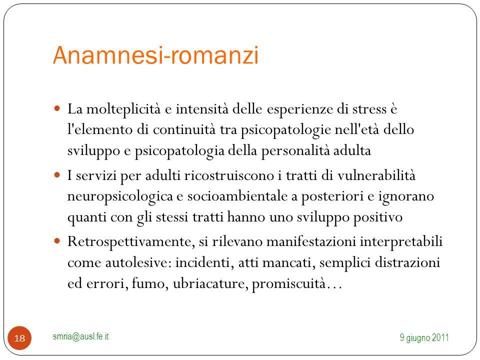 Anamnesi-romanzi