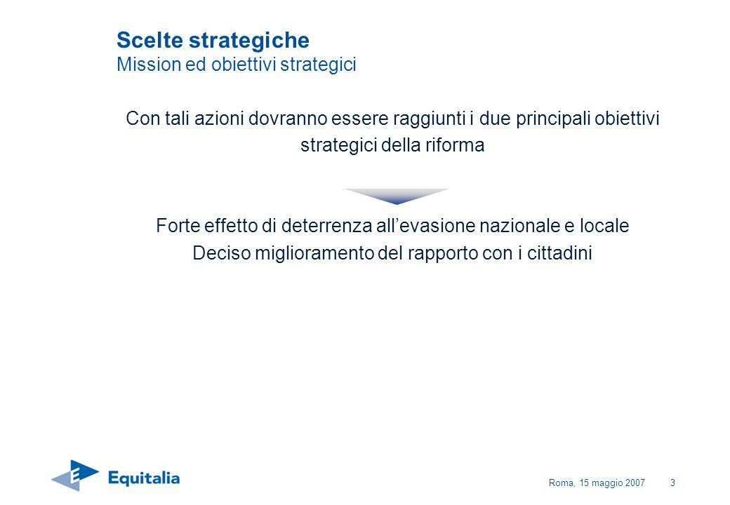 Scelte strategiche Mission ed obiettivi strategici