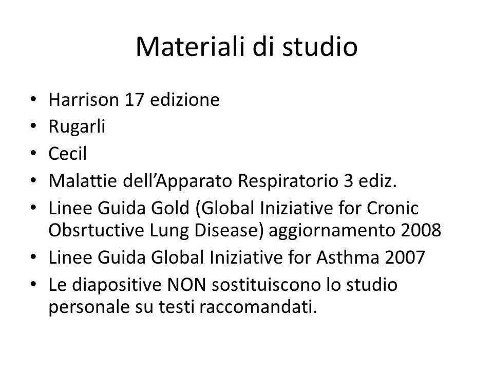 Materiali di studio Harrison 17 edizione Rugarli Cecil