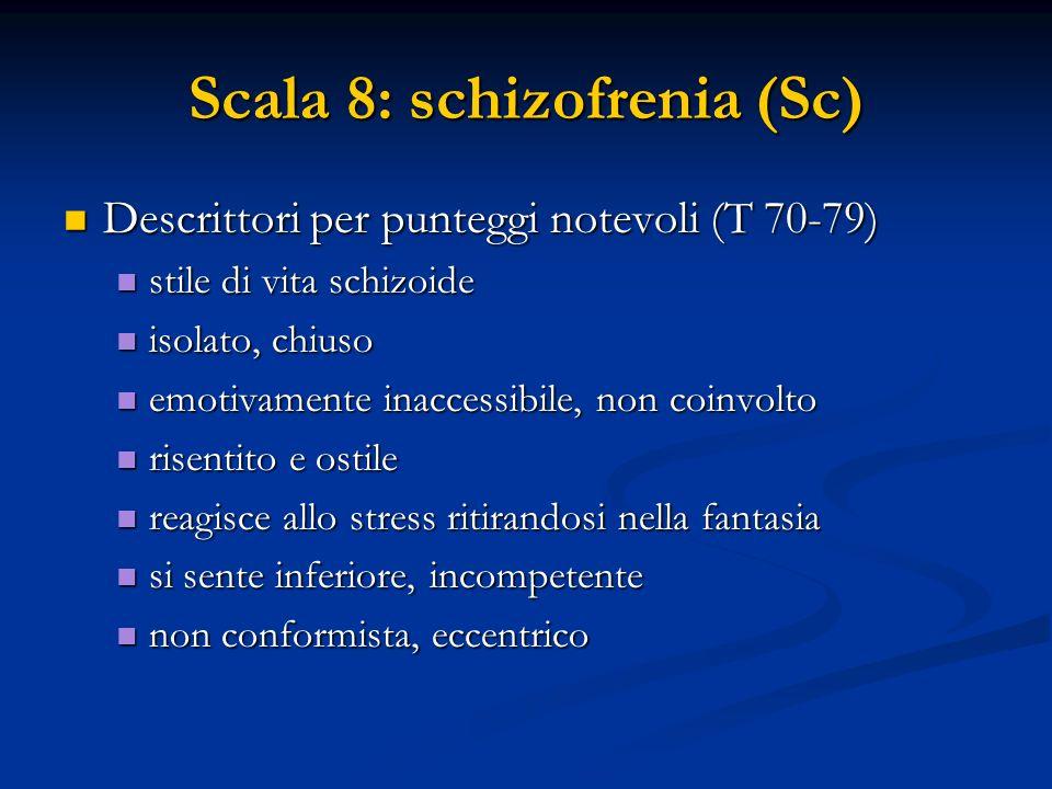 Scala 8: schizofrenia (Sc)
