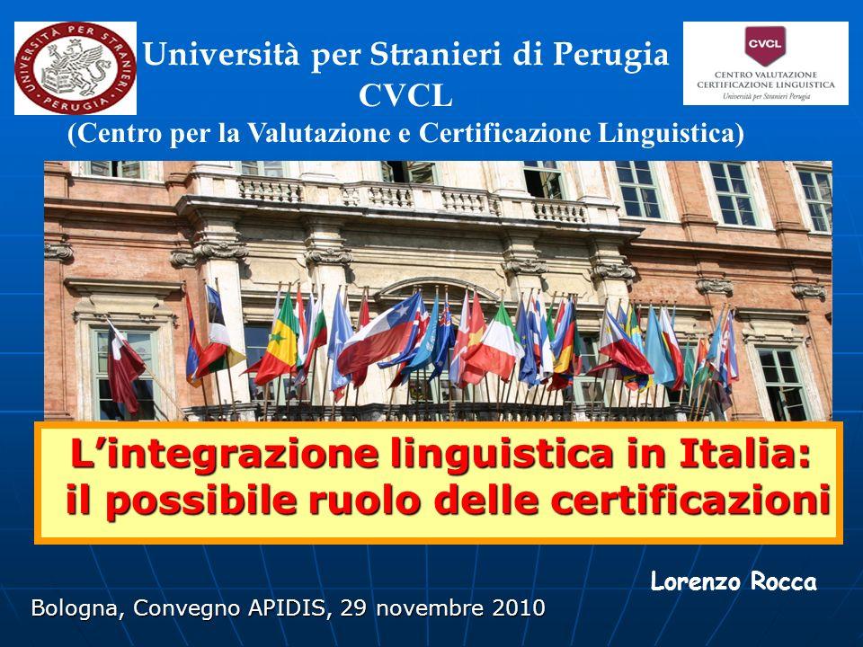 L'integrazione linguistica in Italia: